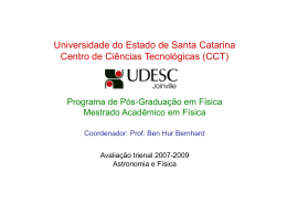 Slide 1 - Instituto de Física / UFRJ