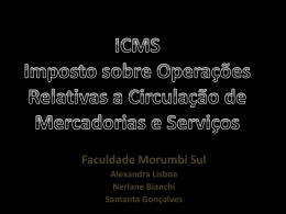 ICMS. - ADM-FMS