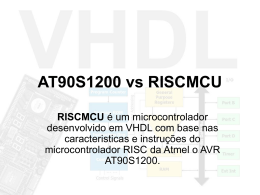AT90S1200 vs RISCMCU