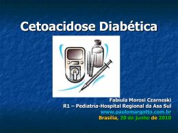Tratamento de Cetoacidose Diabética