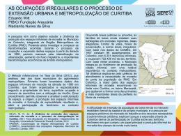 Eduardo Witt PIBIC/ Fundação Araucária Madianita Nunes