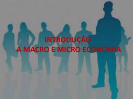 introdução a macroeconomia
