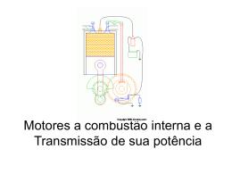 Motores a combustão interna e a Transmissão de sua potência