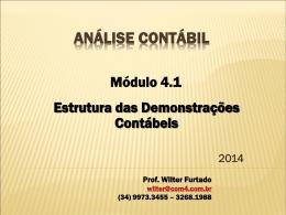 Módulo IV - Estrutura das Demonstrações - 2014 (1)
