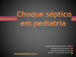 Choque séptico em Pediatria