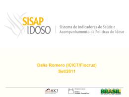 SISAP-Idoso