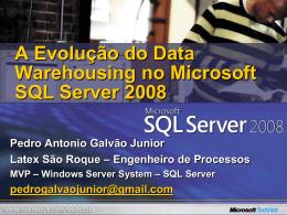 WebCast – SQL Server 2008 – 08052008 – Datawarehousing