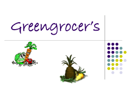 Greengrocer`s - english-7