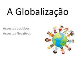 A Globalização - WordPress.com
