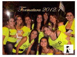 Comissão de Formatura 2012.1