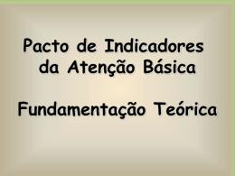 Pacto Fundamentação Teórica