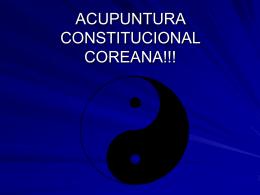CONSTITUCIONAL COREANA