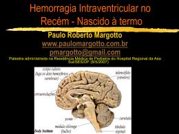 Hemorragia Intraventricular no Recém