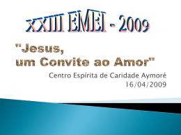 """""""Jesus, um Convite ao Amor"""""""