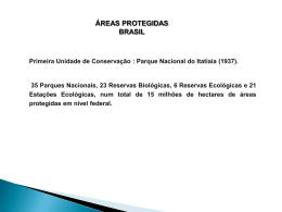 Planejamento Ambiental_Unidades de Conservacao