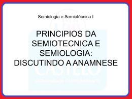 anamnesis - Universidade Castelo Branco