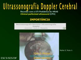 Ultrassonografia cerebral Doppler