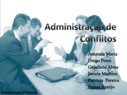 Administração de Conflitos - Administração 1/2010
