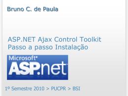 Passo a passo de instalação do ASP.NET Ajax