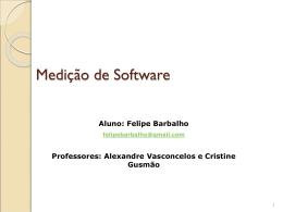 Medição de Software
