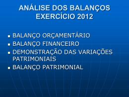 BALANÇO ORÇAMENTÁRIO 1 - RECEITA 1.1 - Execução