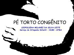 PÉ TORTO CONGÊNITO