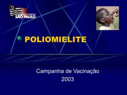 14/06/03 Aula sobre POLIO Campanha Nac. de Vacinação
