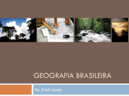 Geografia Brasileira