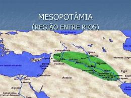 MESOPOTÂMIA (REGIÃO ENTRE RIOS)
