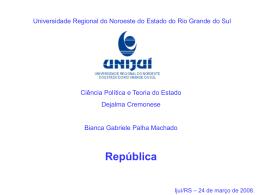República - Capital Social Sul