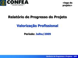 Gerência de Programas e Projetos