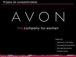 Projeto Competitividadae - AVON FINAL 12
