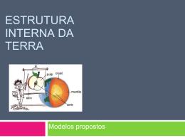 Estrutura Interna da Terra Modelos 7cap0910A