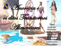 Anorexia e os ditos Transtornos Alimentares