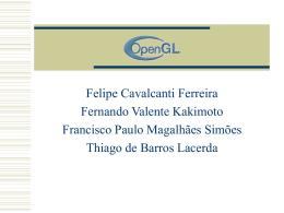 OPENGL - Centro de Informática da UFPE