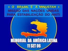 Parte 1 - Memorial da América Latina