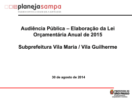 Slide 1 - Planeja Sampa