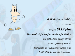 SIAB plus - Observa Saúde.SP