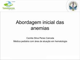 aula anemia telesaude