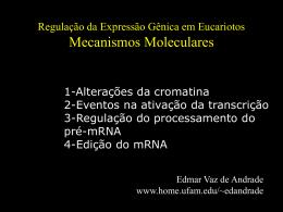 Regulação da Expressão Gênica em Organismos Eucarióticos