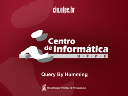 Query By Humming