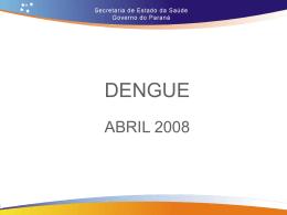 Apresentação Dengue Coletiva 15/04/2008