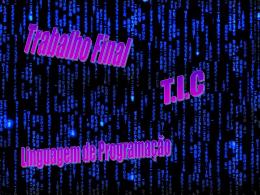 Powerpoint Linguagem de programação