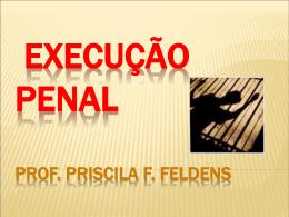 Princípios de Execução Penal - Priscila Formigheri Feldens