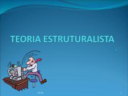 Abordagem TEORIA ESTRUTURALISTA