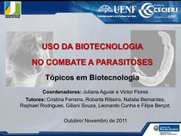 uso da biotecnologia no combate a parasitoses