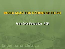 modulação por código de pulso