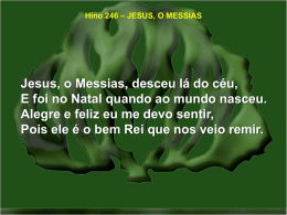 246-jesus, o messias