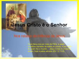 Jesus, Messias e Filho de Deus – Jesus é o