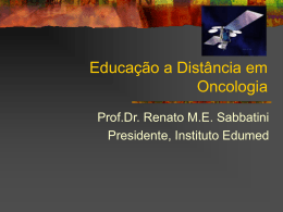 EADOncologia - Instituto Edumed